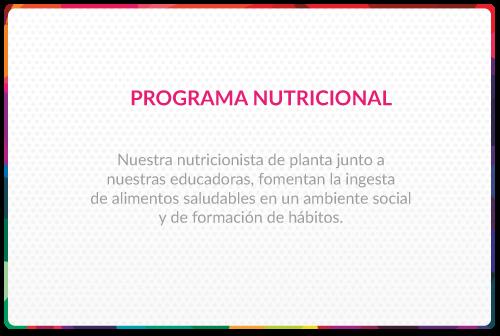 Progrma Nutricional